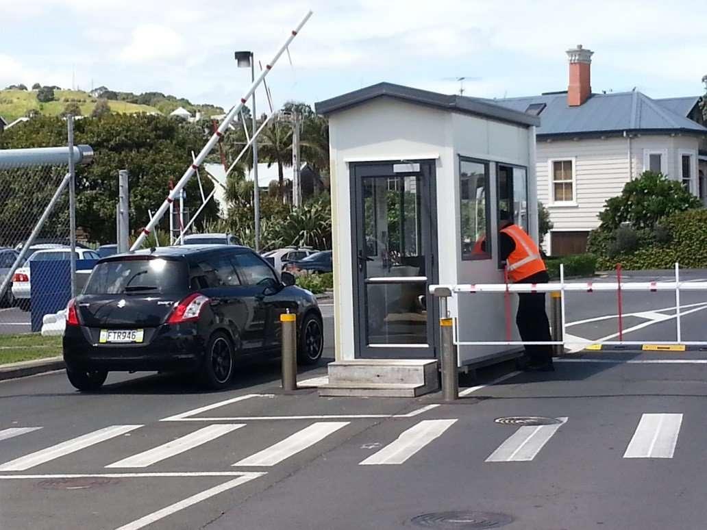 Traffic Barrier Control at Devonport Naval Base