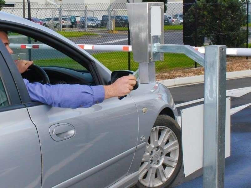 carpark access control auckland