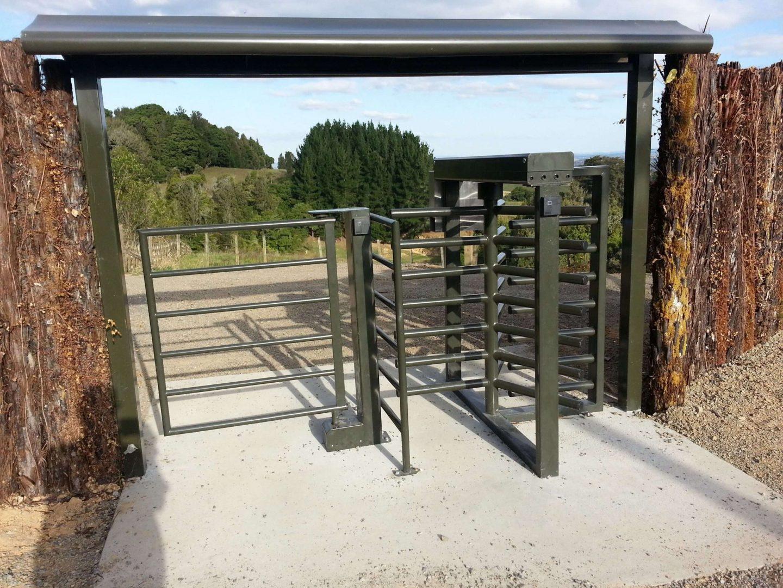 control visitor access